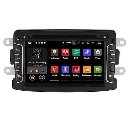 Navigatie NAVI-IT, 2GB RAM 16GB ROM, Gps Dacia Logan Duster Sandero Logdy Dokker Renault , Android 10 , Internet , Aplicatii , Waze , Wi Fi , Usb , Bluetooth , Mirrorlink3