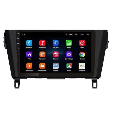 """Navigatie NAVI-IT, 1GB RAM 16GB ROM, Gps Nissan X Trail , Qashqai ( 2013 - 2018 ) Display 10.1 """" , Android , Internet ,Aplicatii , Waze , Wi Fi , Usb , Bluetooth , Mirrorlink [3]"""
