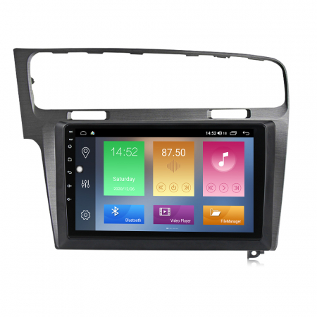 Navigatie Volkswagen Golf 7, Silver, NAVI-IT, 9 Inch, 1GB RAM 16 GB ROM, Android 9,1, WiFi, Bluetooth, Magazin Play, Camera Marsarier [1]
