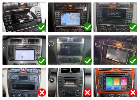Navigatie NAVI-IT 1 GB RAM + 16 GB ROM Mercedes C Class W203 , CLK W209 , Android 9.1 , Internet, Aplicatii , Waze , Wi Fi , Usb , Bluetooth , Mirrorlink [9]