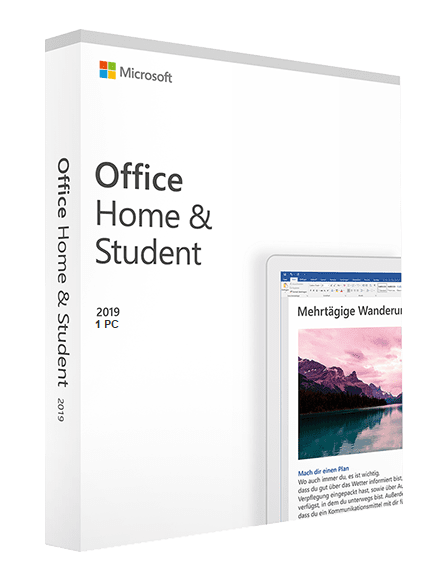 Microsoft Office 2019 Home and Student, 32/64 bit, toate limbile, licenta electronica 0