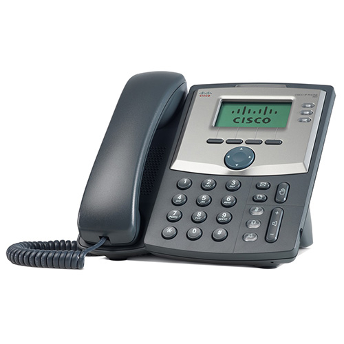 3 Line IP Phone with Display and PC Port 0