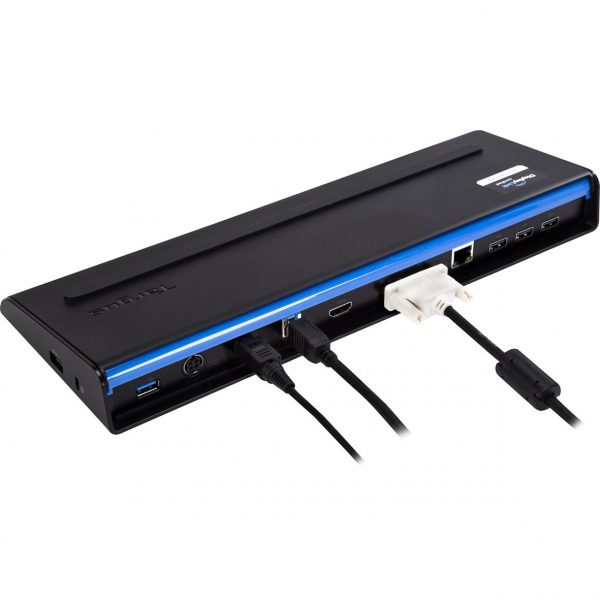 Docking Station Targus SuperSpeed Dual Video With Power, USB 3.0, Black 5