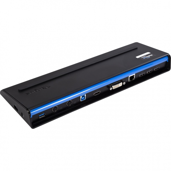 Docking Station Targus SuperSpeed Dual Video With Power, USB 3.0, Black 0