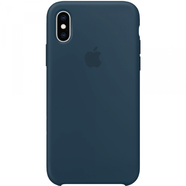 Husa Capac Spate Silicon Pacific Verde APPLE iPhone Xs 0