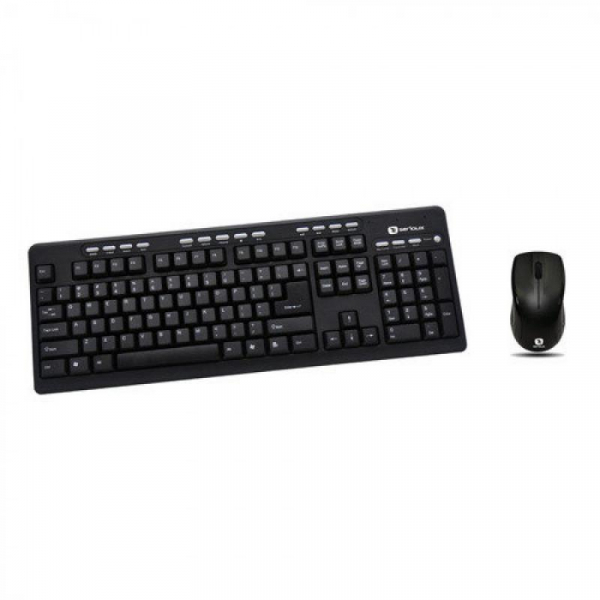 Kit tastatura + mouse Serioux MKM5500, cu fir, multimedia, negru, USB 0