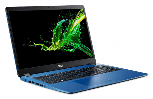 """Laptop Acer Aspire 3 A315-56, 15.6"""" Full HD 1920 x 1080,  Acer ComfyView™ LED-backlit,Intel Core i3-1005G1 dual-core (1.20GHz, up to 3.40GHz, 4MB), Intel UHD Graphics, RAM 8 GB of DDR4, SSD 512 GB PCI 1"""