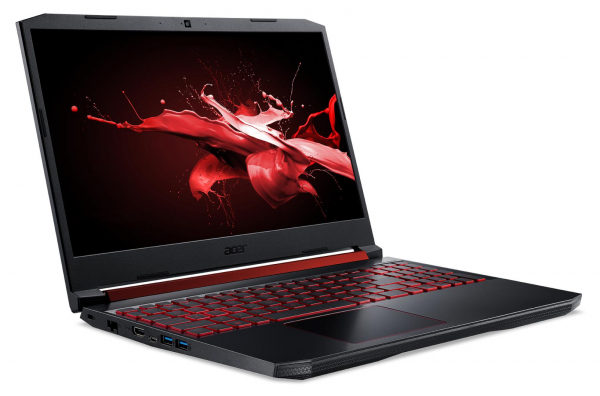 "Laptop Acer Nitro 5 AN515-54, 15.6"" display with IPS  technology, Full HD 1920 x1080, Intel Core Coffeelake refresh i5-9300H 4-Core (2.40GHz, up to 4.10GHz, 8MB) + HM370, NVIDIA GeForce RTX2060 6GB GD 1"