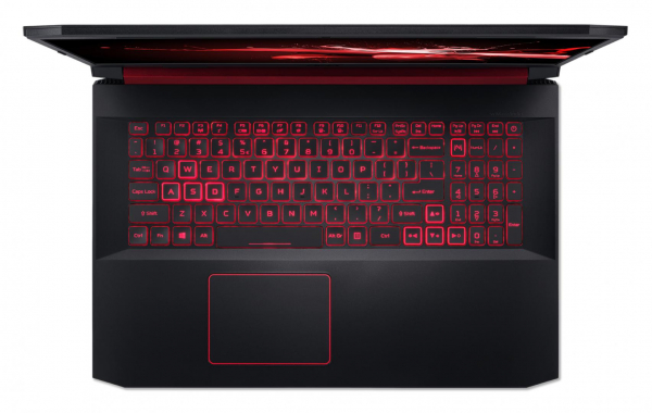 "Laptop Acer Nitro 5 AN517-51, 17.3"" display with IPS (In-Plane Switching) technology, Full HD 1920 x1080, high-brightness (300 nits) Acer ComfyViewTM LED-backlit TFT LCD, supporting 144 Hz, 3 ms Overd 3"