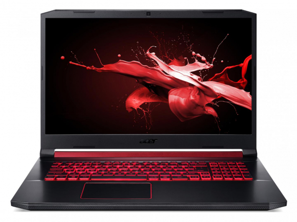 "Laptop Acer Nitro 5 AN517-51, 17.3"" display with IPS (In-Plane Switching) technology, Full HD 1920 x1080, high-brightness (300 nits) Acer ComfyViewTM LED-backlit TFT LCD, supporting 144 Hz, 3 ms Overd 2"