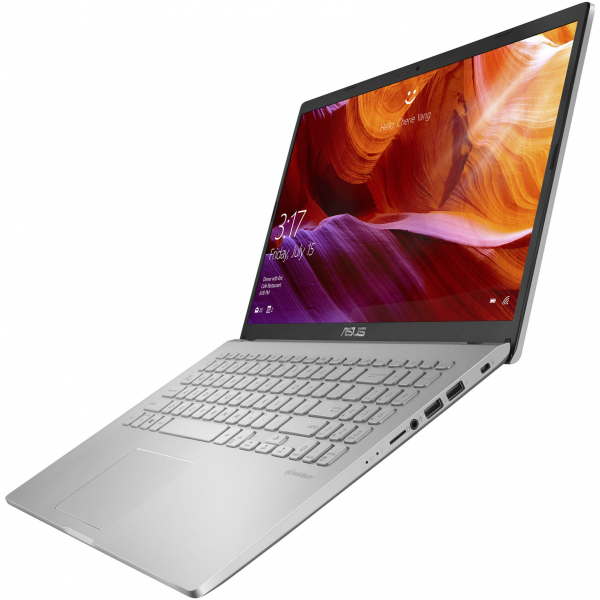 "Laptop ASUS X509JA cu procesor Intel® Core™ i5-1035G1 pana la 3.60 GHz, 15.6"", Full HD, 8GB, 512GB SSD, Intel® UHD Graphics, Free DOS, Transparent Silver 4"