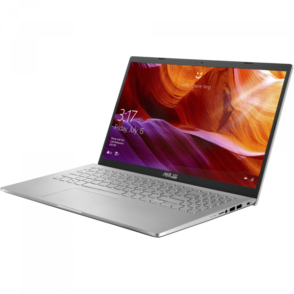 "Laptop ASUS X509JA cu procesor Intel® Core™ i5-1035G1 pana la 3.60 GHz, 15.6"", Full HD, 8GB, 512GB SSD, Intel® UHD Graphics, Free DOS, Transparent Silver 1"