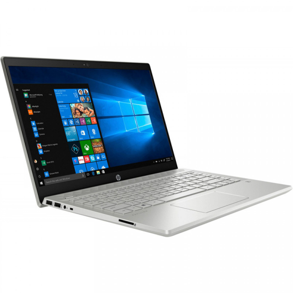 Laptop HP 14'' Pavilion 14-ce2013nq, FHD IPS, Procesor Intel® Core™ i7-8565U (8M Cache, up to 4.60 GHz), 8GB DDR4, 512GB SSD, GMA UHD 620, FreeDos, Silver 1