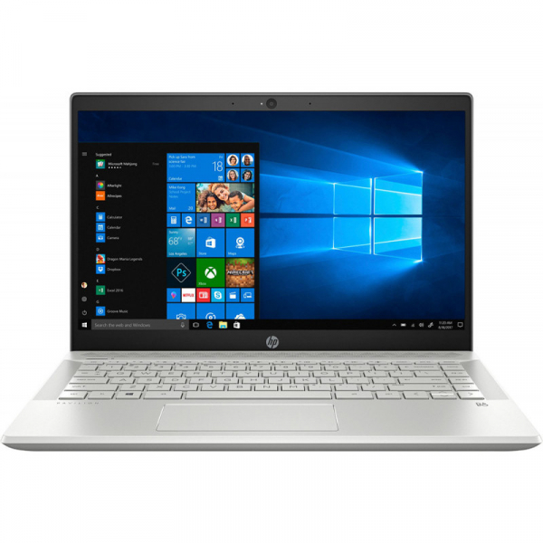 Laptop HP 14'' Pavilion 14-ce2013nq, FHD IPS, Procesor Intel® Core™ i7-8565U (8M Cache, up to 4.60 GHz), 8GB DDR4, 512GB SSD, GMA UHD 620, FreeDos, Silver 0