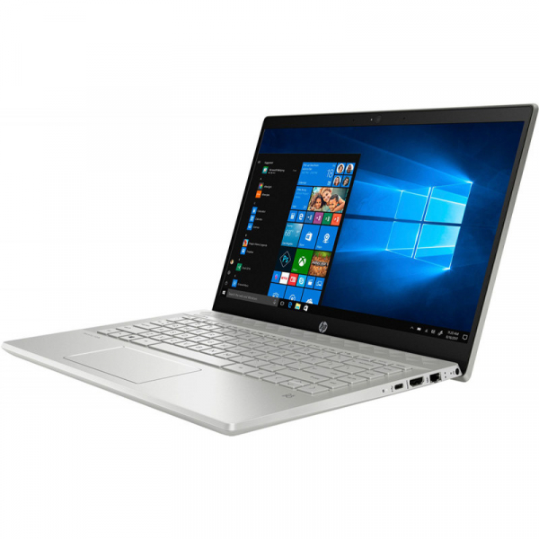 Laptop HP 14'' Pavilion 14-ce2013nq, FHD IPS, Procesor Intel® Core™ i7-8565U (8M Cache, up to 4.60 GHz), 8GB DDR4, 512GB SSD, GMA UHD 620, FreeDos, Silver 4