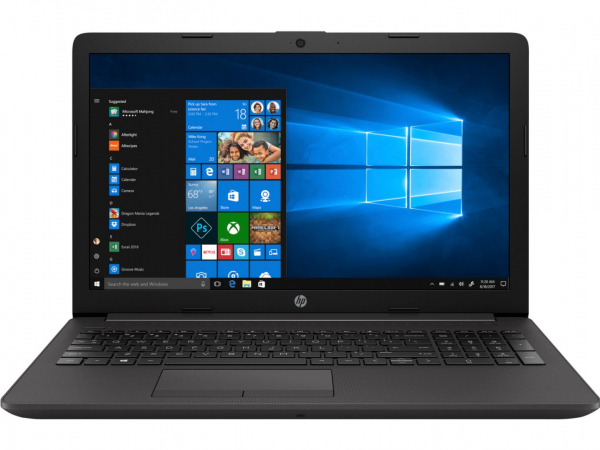 Laptop HP 250 G7, 15.6 inch LED FHD Anti-Glare (1920x1080), Intel Core i5-8265U Quad Core (1.6GHz, up to 3.9GHz, 6MB), video dedicat NVIDIA GeForce MX110 2GB DDR5, RAM 8GB DDR4 2400MHz (1x8GB), SSD 25 5