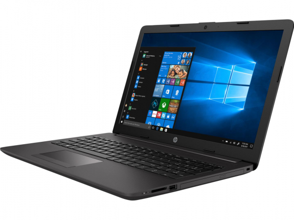 Laptop HP 250 G7, 15.6 inch LED FHD Anti-Glare (1920x1080), Intel Core i5-8265U Quad Core (1.6GHz, up to 3.9GHz, 6MB), video dedicat NVIDIA GeForce MX110 2GB DDR5, RAM 8GB DDR4 2400MHz (1x8GB), SSD 25 4