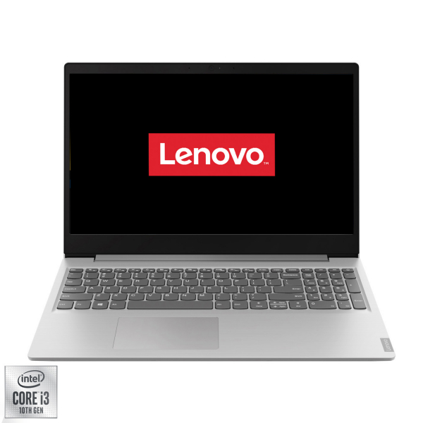 "Laptop Lenovo Ideapad S145-15IIL cu procesor Intel® Core™ i3-1005G1 pana la 3.40 GHz Ice Lake, 15.6"", Full HD, 4GB, 256GB SSD, Intel UHD Graphics, Free DOS, Platinum Grey 16"