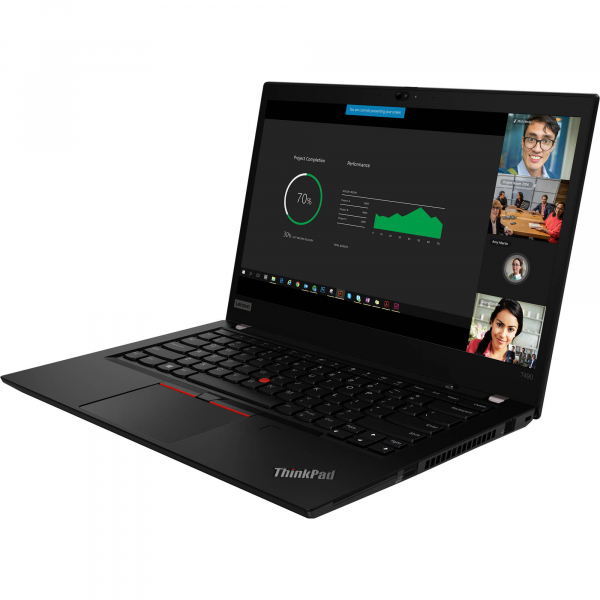"Laptop ultraportabil Lenovo ThinkPad T490 cu procesor Intel® Core™ i7-8565U pana la 4.60 GHz, Whiskey Lake, 14"", Full HD, IPS, 8GB, 256GB SSD, Intel® UHD Graphics 620, Microsoft Windows 10 Pro, Black 8"