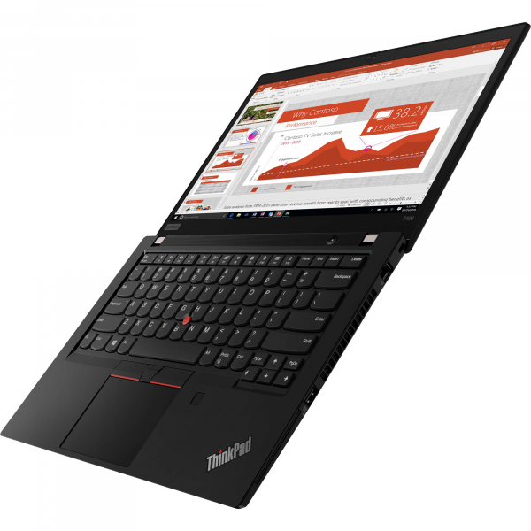 "Laptop ultraportabil Lenovo ThinkPad T490 cu procesor Intel® Core™ i7-8565U pana la 4.60 GHz, Whiskey Lake, 14"", Full HD, IPS, 8GB, 256GB SSD, Intel® UHD Graphics 620, Microsoft Windows 10 Pro, Black 7"