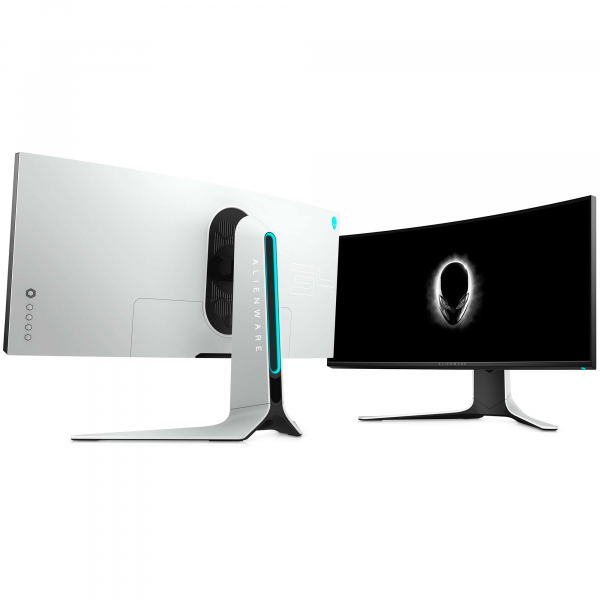 "Monitor gaming curbat LED Nano IPS Dell Alienware 34"", Ultra Wide QHD, Display Port, G-Sync, 120Hz, Negru/Gri 9"