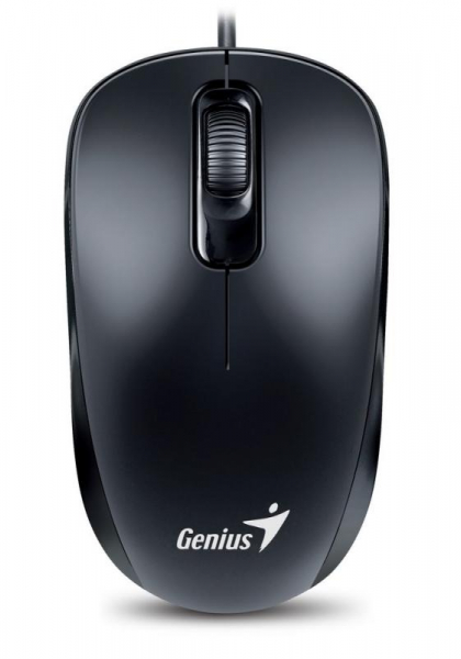 Mouse Optic Genius DX-110, 1000 DPI, USB, Negru 0