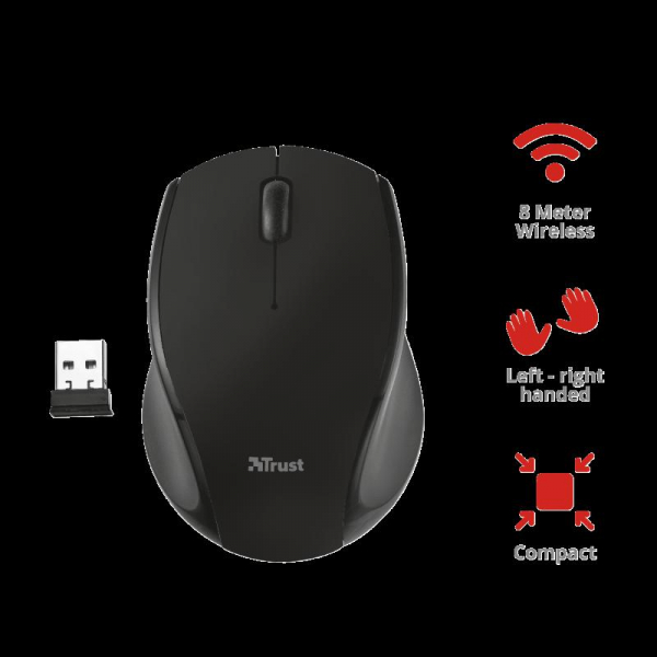 Trust Oni Micro Wireless Mouse - black 3