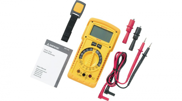 Multimetru BEHA-AMPORE Handheld Digital Multimeter, AC/DC Current, AC/DC Voltage, Continuity, Resistance, 3.5, True RMS 1
