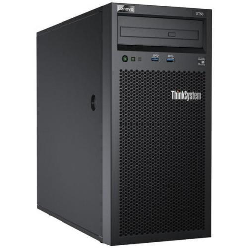 Server LENOVO ThinkSystem ST50 - Xeon E 2126G - 16GB Ram - 2x 2TB HDD - 250W 0