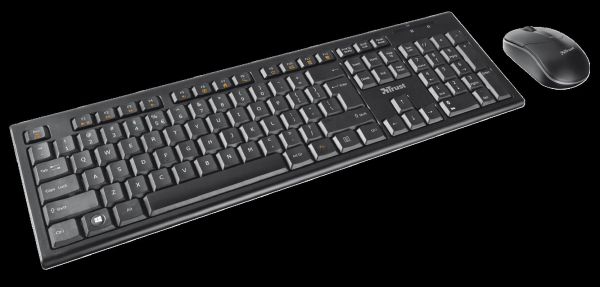 Trust Nola Wireless Keyboard with mouse 3
