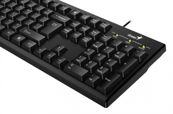 KB Genius KB-100 Black USB 1