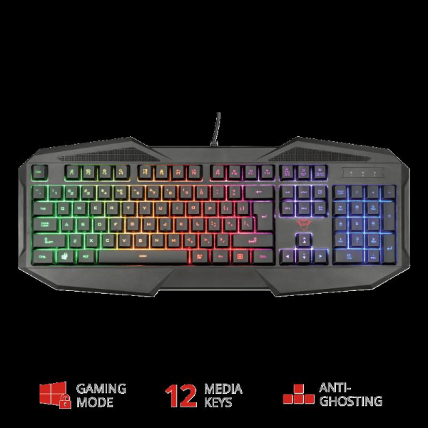 Trust GXT 830-RW Avonn Gaming Keyboard 4