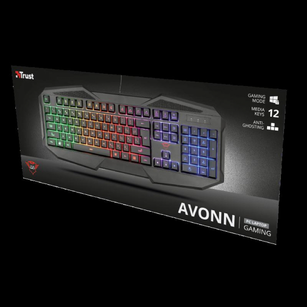 Trust GXT 830-RW Avonn Gaming Keyboard 0