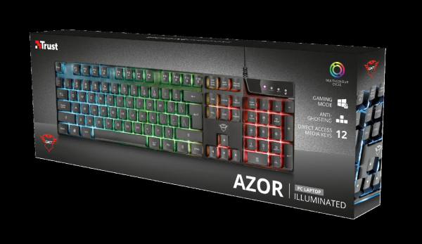 Trust GXT 835 Azor Illuminated Keyboard 4