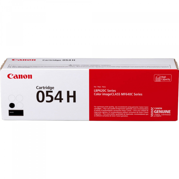 CANON CRG054H TONER CARTRIDGE  BLACK 0