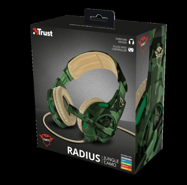 Trust GXT 310C Radius Headset - Jungle 1