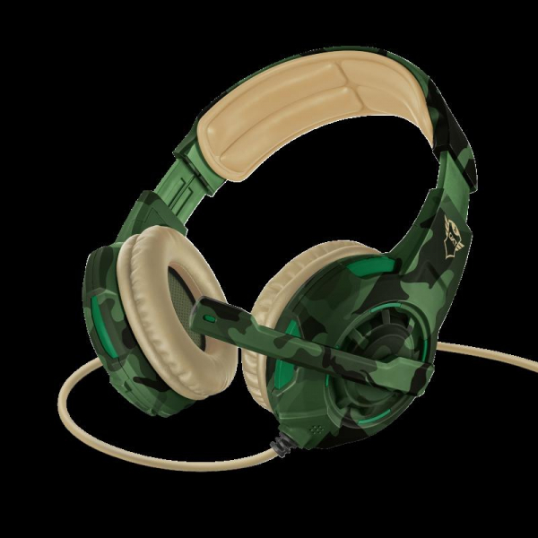 Trust GXT 310C Radius Headset - Jungle 8