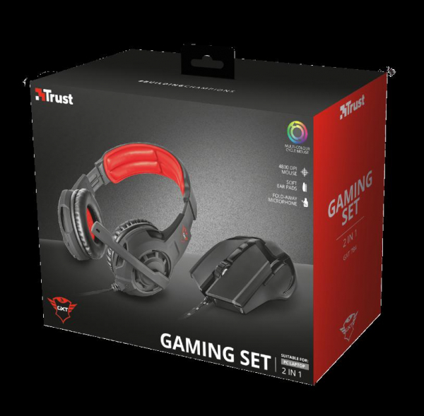 Trust Mouse+Casti GXT 784 2-in-1 Gaming 4