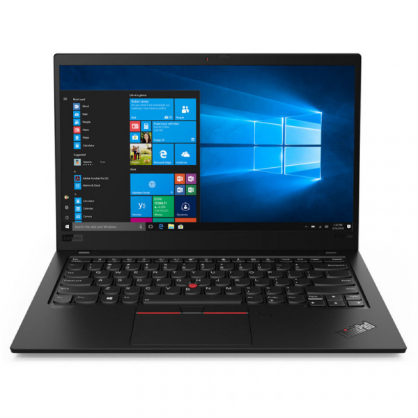 Ultrabook Lenovo 14'' ThinkPad X1 Carbon 7th gen, FHD IPS, Procesor Intel® Core™ i7-8565U (8M Cache, up to 4.60 GHz), 16GB, 512GB SSD, GMA UHD 620, 4G LTE, FingerPrint Reader, Win 10 Pro, Black Paint 0