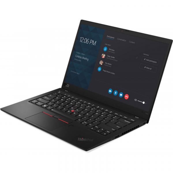 Ultrabook Lenovo 14'' ThinkPad X1 Carbon 7th gen, FHD IPS, Procesor Intel® Core™ i7-8565U (8M Cache, up to 4.60 GHz), 16GB, 512GB SSD, GMA UHD 620, 4G LTE, FingerPrint Reader, Win 10 Pro, Black Paint 2