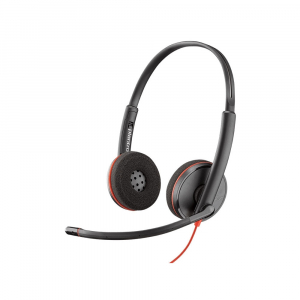Casca Call Center Plantronics BLACKWIRE 3220, USB-A, Stereo (209745-101)0