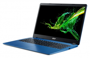"""Laptop Acer Aspire 3 A315-56, 15.6"""" Full HD 1920 x 1080,  Acer ComfyView™ LED-backlit,Intel Core i3-1005G1 dual-core (1.20GHz, up to 3.40GHz, 4MB), Intel UHD Graphics, RAM 8 GB of DDR4, SSD 512 GB PCI2"""