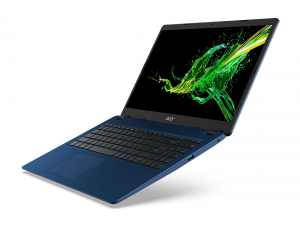 """Laptop Acer Aspire 3 A315-56, 15.6"""" Full HD 1920 x 1080,  Acer ComfyView™ LED-backlit,Intel Core i3-1005G1 dual-core (1.20GHz, up to 3.40GHz, 4MB), Intel UHD Graphics, RAM 8 GB of DDR4, SSD 512 GB PCI3"""