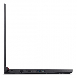 """Laptop Acer Nitro 5 AN517-51, 17.3"""" display with IPS (In-Plane Switching) technology, Full HD 1920 x1080, high-brightness (300 nits) Acer ComfyViewTM LED-backlit TFT LCD, supporting 144 Hz, 3 ms Overd5"""