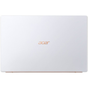 Laptop Ultrabook Acer 14'' Swift 5 SF514-54T, FHD IPS Touch, Procesor Intel® Core™ i5-1035G1 (6M Cache, up to 3.60 GHz), 16GB DDR4X, 512GB SSD, GMA UHD, Linux, Moonstone White1