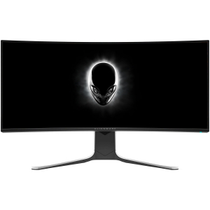 "Monitor gaming curbat LED Nano IPS Dell Alienware 34"", Ultra Wide QHD, Display Port, G-Sync, 120Hz, Negru/Gri8"