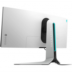 "Monitor gaming curbat LED Nano IPS Dell Alienware 34"", Ultra Wide QHD, Display Port, G-Sync, 120Hz, Negru/Gri3"
