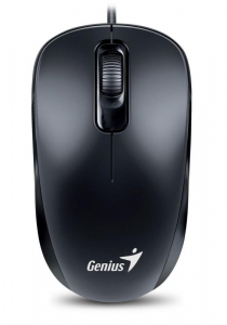 Mouse Optic Genius DX-110, 1000 DPI, USB, Negru0