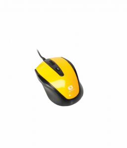 Mouse optic Serioux Pastel 3300, USB, Galben1