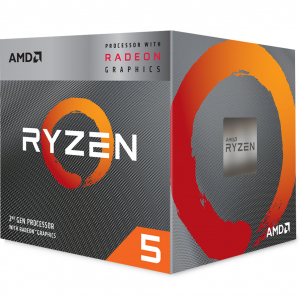 AMD CPU RYZEN 5 3400G YD3400C5FHBOX2